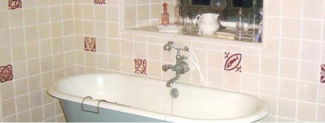Vitrine magique accessoire salle deau - Carrelage salle de bain romantique ...